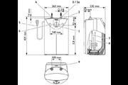 Stiebel Eltron SNU 5 SL + MAE-W egykaros mosdó csapteleppel