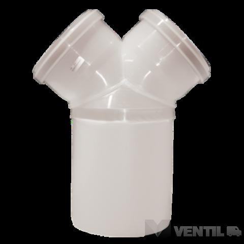 Almeva PPH kondenzációs szétválasztó Y idom 80/2x60