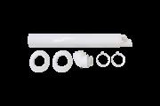 Vaillant vízszintes fali / tetőátvezető rendszer tisztító/ellenőrző könyökkel 0020219516