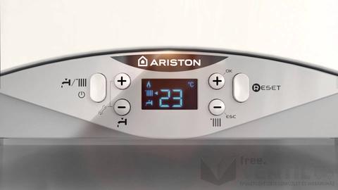 Ariston Cares Premium 24 EU ERP kondenzációs kombi gázkazán