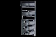 Sanica 500X1800 mm íves törölközőszárító radiátor króm